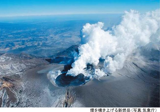 新燃岳が52年振りに爆発的噴火