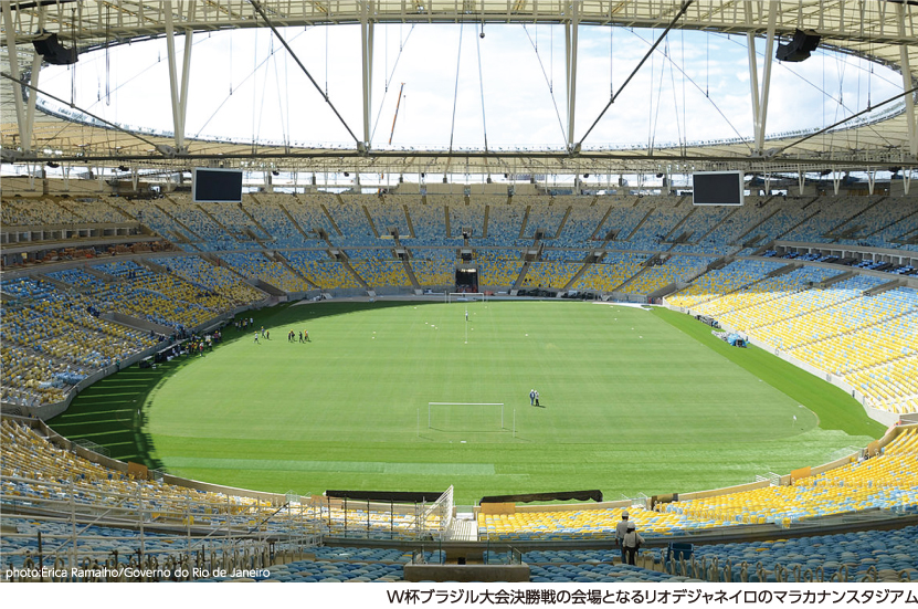 世界最大のスポーツ祭典 W杯ブラジル大会が間もなく開催