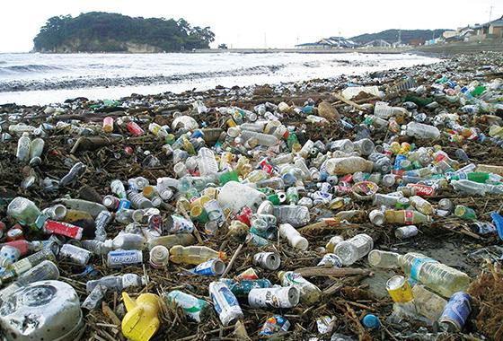 プラスチックごみで深刻化する海洋汚染