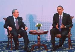 アメリカとキューバが54年ぶりに国交回復