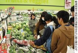 来年4月から消費税は10%に