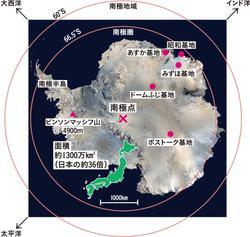 白い大陸、南極への挑戦